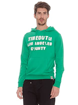 Timeout Sudadera Canguro (Verde)