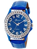 Geneva Ladies Blue Gift Watch (GL-10-BLUE)