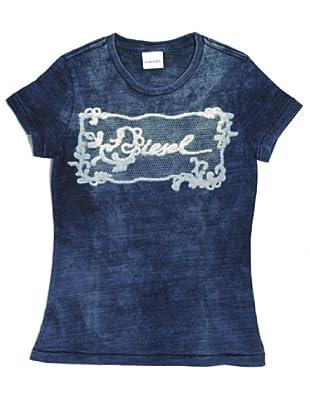 Diesel Kid T-Shirt Junior Tafini (Denimblau)