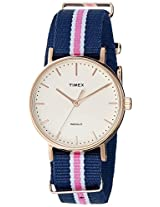 Timex Analog White Dial Women's Watch - TW2P91500AA