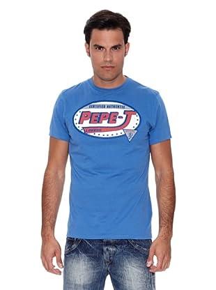 Pepe Jeans London Camiseta Conrad T (Azul Claro)