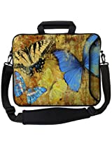"Designer Sleeves 17"" Butterflies 2 Executive Laptop Bag"