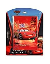 Cars 2 Journal 50 Sheets w/ Lock on Blister Card