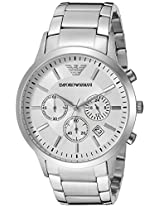 Emporio Armani Analog White Dial Men's Watch - AR2458