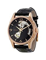 Hamilton Jazzmaster Open Heart Rose Gold Plated Case Automatic Men'S Watch - Hml-H32575735