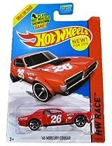 Mattel Hot Wheels 2014 Hw Race Track Aces 68 Mercury Cougar (Red)