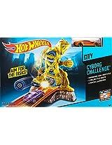 Hot Wheels Cyborg Challenge Track Set