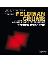 Feldman/Crumb:Palais De Mari [Steven Osborne ] [Hyperion: CDA68108]
