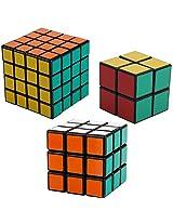 Shengshou 2X2, 3X3, 4X4 Cube Puzzle Super Saver Combo Set (Black)