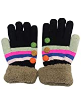 Graceway Unisex Gloves (4GL1, Multi-Coloured, Free Size)