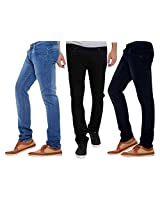 Stylox Combo Of 3 Men Jeans