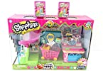 Bundle - 3 items Shopkins Supermarket Playset (2) Shopkins S2 Baskets(Styles May Vary)
