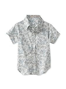 Je suis en CP! Boy's Classic Shirt (Toile De Jouy)