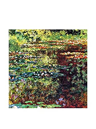 LegendArte  Wandbild Seerosenteich von Claude Monet