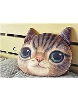 Besttime 32cm Cat 3 D Pillow Soft Plush Doll Toy (C)