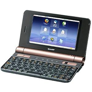 SHARP Net Walker 5インチ モバイルインターネットツール ブラック系 PC-Z1-B