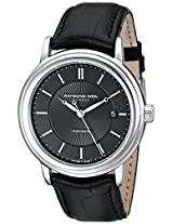 Raymond Weil Men's 2847-STC-20001 Maestro Analog Display Swiss Automatic Black Watch