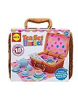Alex Toys Tea Set Basket