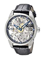 Tissot Men's TIST0704051641100 T-Classic Analog Display Mechanical Hand Wind Black Watch