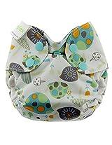 Blueberry Simplex All In One Diaper, Snails, Newborn