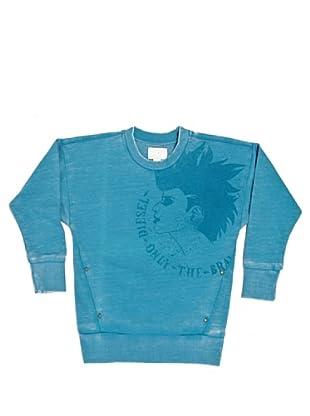 Diesel Kid Sweatshirt Saxonk (Türkis)