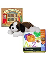Game, Book & Plush Childrens Gift Bundle Ages 5+ [3 Piece]