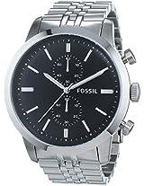 Fossil Townsman Chronograph Analog Black Dial Men's Watch - FS4784