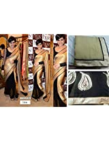 Mandira Bedi In Half And Half Saree