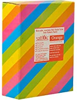 Sattvic Powder Non-Toxic Silky Holi Gulal Color (1 kg, Orange)