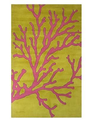 Meva Rugs Calypso Rug, Gold, 5' x 8'