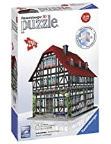 Ravensburger 3D Puzzles Medieval House, Multi Color (216 Pieces)