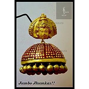 AUrA-EArTH Annapoorna 2 Jhumkas