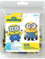 Perler Beads 80-52989 Minions Perler Bob Activity Trial Size Kit, Yellow