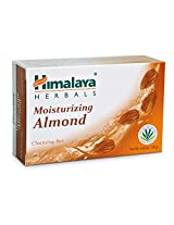 Himalaya Herbal Healthcare Moisturizing Almond Cleansing Bar, 4.41 Ounce