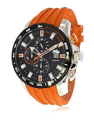 Pit Lane Uhr mit Miyota Uhrwerk Pl-1007-6 orange 46 mm