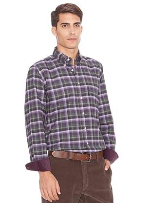 Barbour Camisa Tom (Lila)