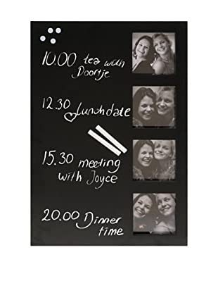 Present Time Photo Memo Chalkboard (Black)