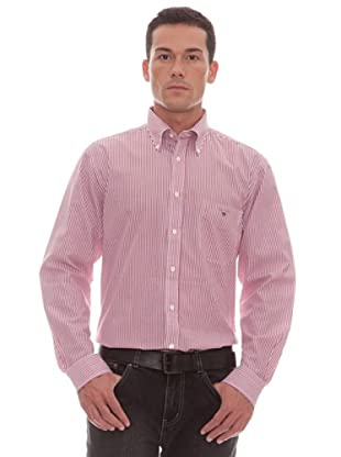 Gant Camisa Rayas (Rojo)