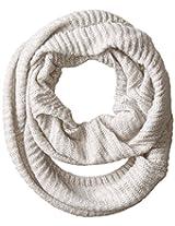 RAMPAGE Women's Lurex Knit Infinity Loop Scarf