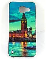 BlueArmor Sparkling Soft Cover Case for Samsung Galaxy A3 2016 Design 22