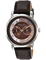 Kenneth Cole Dress Sport Analog Brown Dial Men's Watch - IKC8080