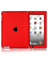 XGear EXOSkin Protective Vinyl Skin for The  iPad 2/3 - Red (IPD2-EXO-RED)