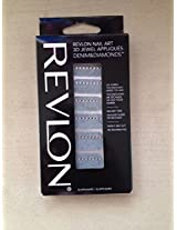 Revlon Nail Art 3D Jewel Appliques Denim&Diamonds(03 Stud-Struck)