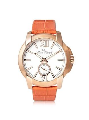 Lucien Piccard Women's 10025-RG-02-OR Cordoba Orange/White Leather Watch
