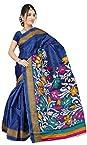 Bhagalpuri cotton silk saree