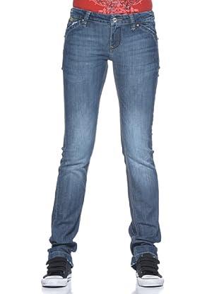 Pantalón Vaquero Sabrina (Azul Denim)