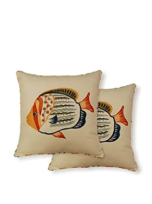 Dakota Set of 2 Fish Pillows