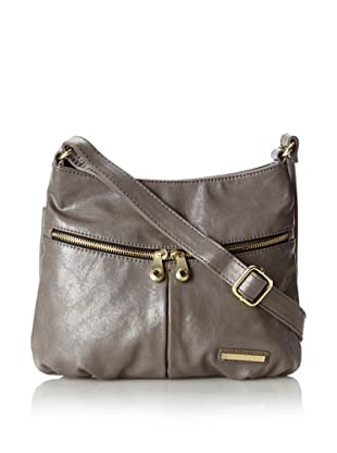 Kenneth Cole Reaction Women's Wooster Street Cross-Body Bag, Stone