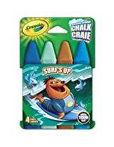 Crayola Build Your Box Surfs Up Chalk (4 Count)