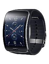 Samsung Galaxy Gear S R750 Curved Super AMOLED Display Smart Watch - Black
